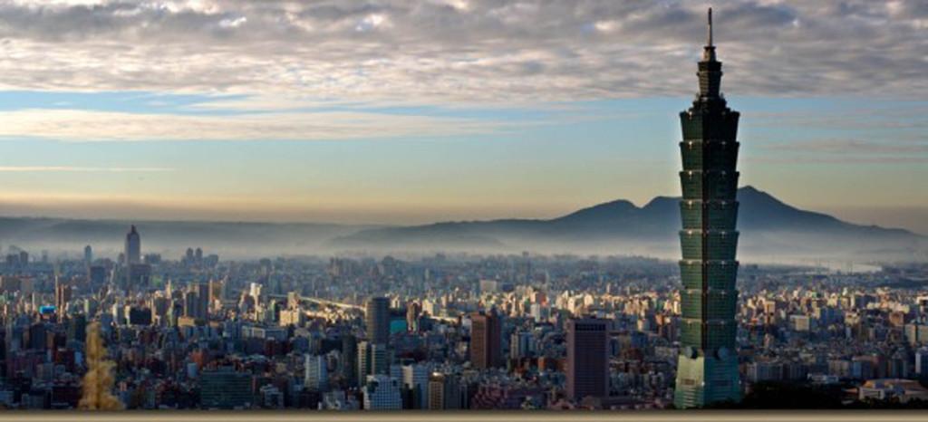 Taipeh, die Hauptstadt Taiwans.