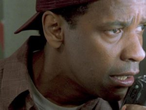 "Denzel Washington in ""Verzweifelte Wut""."