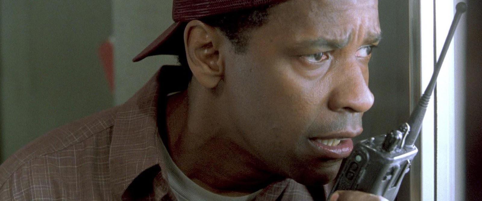 """Denzel Washington in """"Verzweifelte Wut""""."""