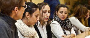 Der syrisch-ägyptische Gesprächskreis. © Martens