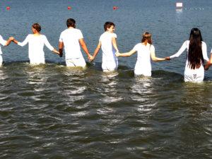Wie vor zwei Jahren: Tauffest am Dülmener See.