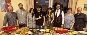Das Kochteam, zu dem auch die Iraner gehörten. ©Martens